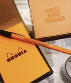DAR Original Leather Memo Cover 【RHODIA #11】