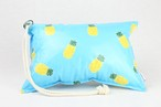 Pillow Bag (plumpillow purse)【Pineapple】まくら×ポーチ アウトドア