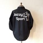 【再入荷】JSロゴ コーチジャケット/ブラック