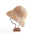 mature ha./paper braid light hat wide/mixbrown×light grey