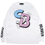 SABBAT13×SUPER BEAVER L/S T【ホワイト】