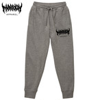 MARRION APPAREL PANTS (黒、ヘザーグレー)