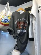レオTシャツ Tシャツ  韓国ファッション