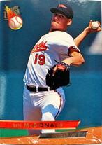 MLBカード 93FLEER Ben McDonald #142 ORIOLES