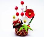 【お正月飾り】迎春初梅飾り