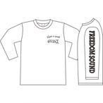 Freedom Sound Long Sleeve(White/Black)
