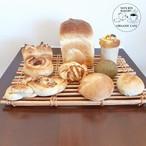 無添加・手作り天然酵母パン詰め合わせ(天然酵母食パン)