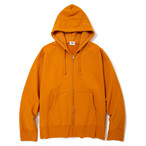 "Just Right ""TD Full-Zip Hoodie"" Mango"