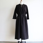 TENNE HANDCRAFTED MODERN【 womens 】waist shirring dress with cape