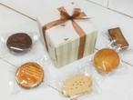 ストライプ柄ボックス   焼き菓子セット