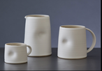 EMMA LACY CERAMIC MAG CUP WHITE