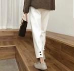 ラックスボタンパンツ パンツ  韓国ファッション