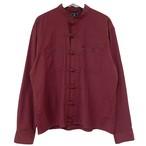 Remake China Shirt 【 Wine Long 】