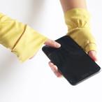 さりげなくウイルス対策できるUVケア手袋 ターメリック(イエロー) 新型コロナ対策に