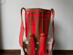 【Pre-order】ワユーバッグ (Wayuu bag) Basic line Lサイズ
