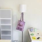 [Aeiou] logo bag (全2色)