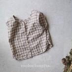 2WAY チェックブラウス 80-100 子供服 男の子 子供服 女の子 子供服通販 韓国子供服
