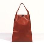 【ご予約受付中】 軽くて薄い牛革のバッグ L BAG RD(赤)