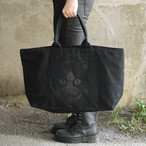 Putrid Cat Big Tote Bag Black×Black