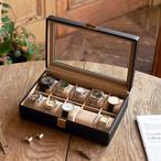【お気に入りの時計をまとめて収納★】Elementum ウォッチケース(10本用)★時計収納 コレクションケース☆