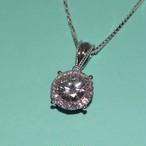 モアサナイト 1カラット ダイヤモンド 18k ネックレス