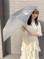 晴雨兼用★UVカット折りたたみ傘【ブラック】