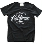 LIFE is CALIFORNIA Tシャツ(black×white)¥3000+tax