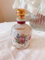 フランス リモージュ花々が可愛い香水瓶