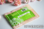 OPPラッピング袋 ピンクレース 12×16
