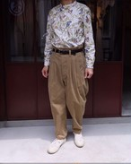 ASEEDONCLOUD/アシードンクラウド Formal Trousers コーデュロイ ベージュ#192502