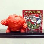 ラーメンくんゴム人形 (赤) + サンタラリ雄シール(赤プリズム)