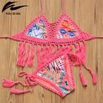 即日発送可能 crochet reversible bikini