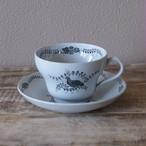 ウェッジウッド パートリッジ コーヒーカップ ソーサー うずら 鳥 ヴィンテージ 食器 #201020-5 Wedgwood partridge アンティーク 陶器 ETRURIA BARLASTON