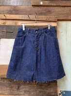 60's Levi's for gals denim short skirt