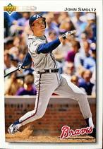 MLBカード 92UPPERDECK John Smoltz #322 BRAVES