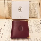 -dead stock- Cartier leather wallet