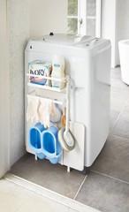 バスルームをスタイリッシュに!!洗濯機横マグネット収納プレート