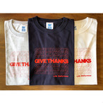 GIVE THANKS LOGO Tee / LIFEdsgn