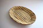 中川紀夫(紀窯)|楕円皿小 線