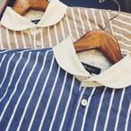 Quilt Cleric Shirts | ストライプ キルト クレリックシャツ (OR GLORY オアグローリー)