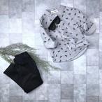 アニマル柄ノーカラーシャツno.1809027 #子供服 #子ども服 #男の子 #女の子 #トップス