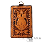 Pass case Rabbit(With metal ring)