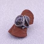 【石花の指輪】ツリテラアゲート