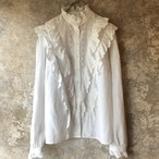 W.Germany vintage frill blouse