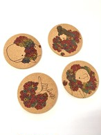 [Kris Goto]CORK COASTER 4-PACK