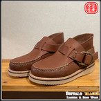 Leather Shors/LBB-001(Double Ring Moccasin)