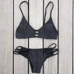 Bikini♡ブラックシンプルビキニ GSB18S055BLK