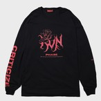 "【9月30日受注予約開始】""criticize""Long Sleeve(Red)"