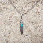 Heather Turquoise Pendant-top《SILVER925》
