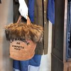 【VIMPETS】ファー付きバケツバッグ